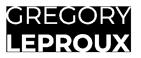 Gregory leproux logo blanc